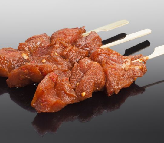 Varkenshaas sate BBQ per stuk 1