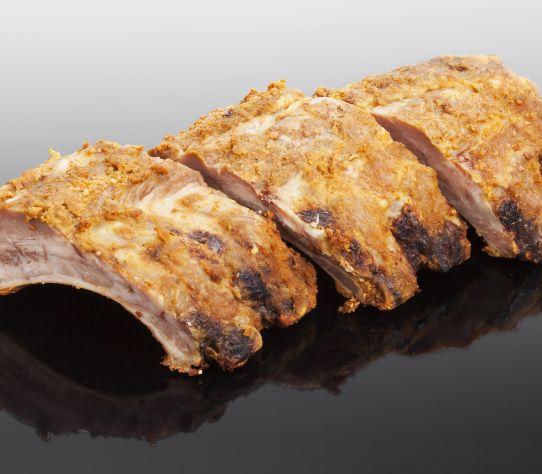 Stukje spare-rib BBQ 1